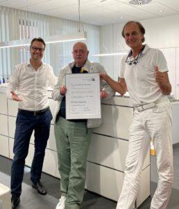 Peter Schlösser 50 Jahre Zusammenarbeit